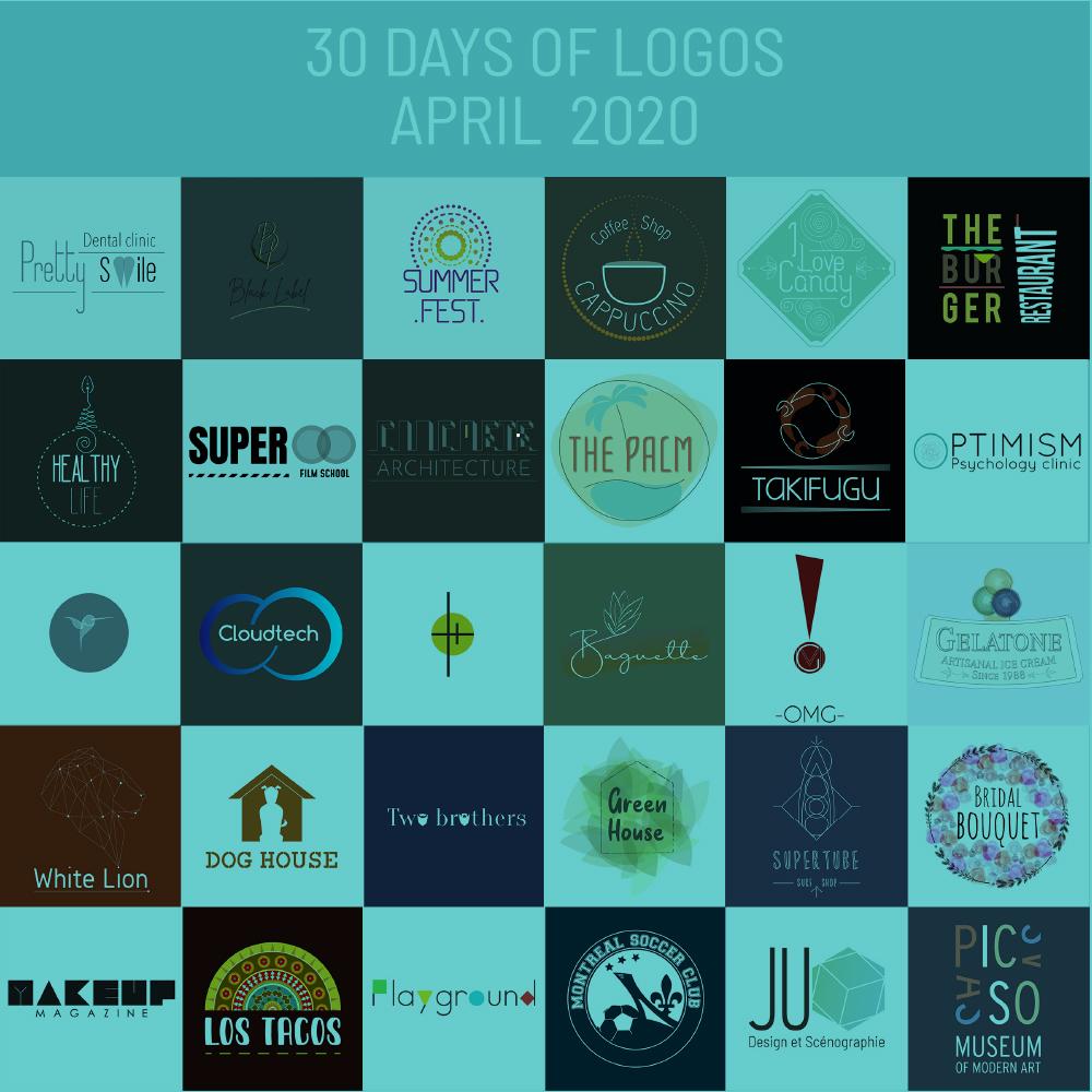 30 Jours, 30 Logos.